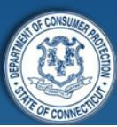 Logo for Connecticut Department of Consumer Protection