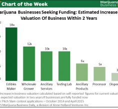 marijuana business valuations