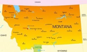 Montana Map Image