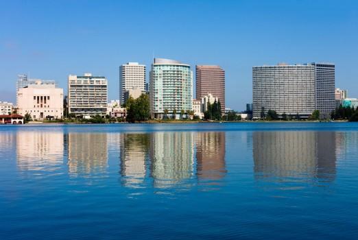 Oakland California stock photo