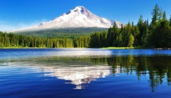 Image of an Oregon mountain