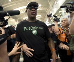 , Cannabis firm's exposure from Dennis Rodman trip hailed as 'truly genius' marketing