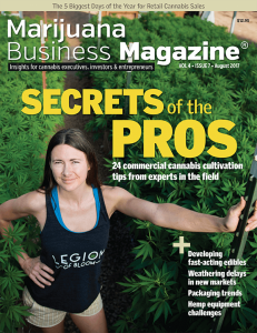 , Marijuana Business Magazine – Past Issues