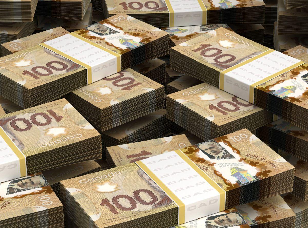 Image of Canadian cash