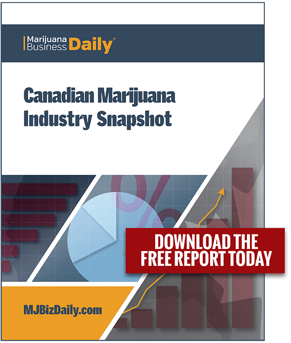 Canadian Marijuana Industry & Market Snapshot Report, November 2017