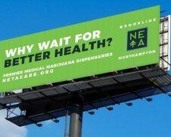 , Marijuana companies weighing billboard advertising's expense against the exposure
