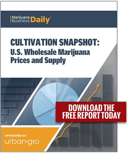 Cultivation Snapshot: U.S. Wholesale Marijuana Prices and Supply, May 2018