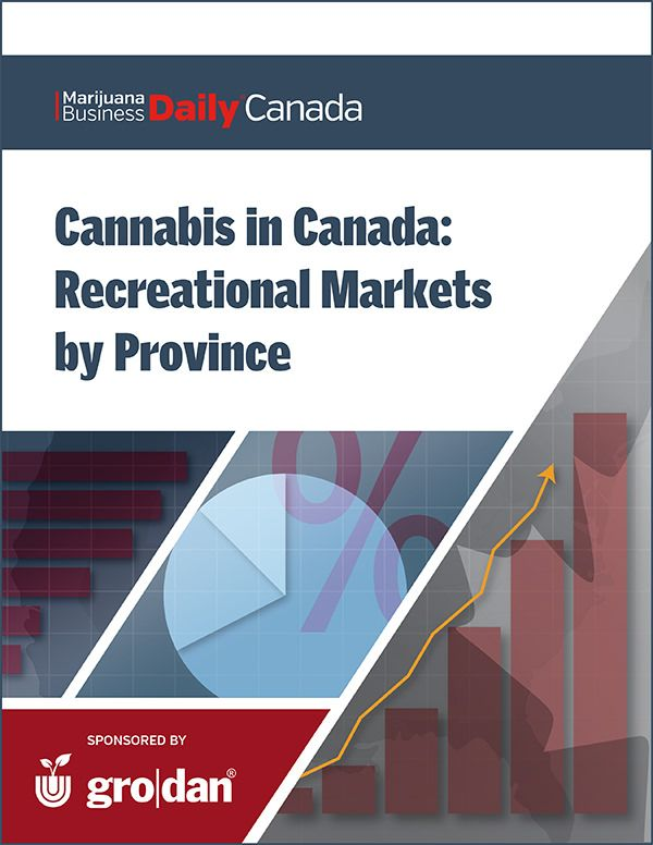 Cannabis in Canada: Recreational Markets by Province, July 2018