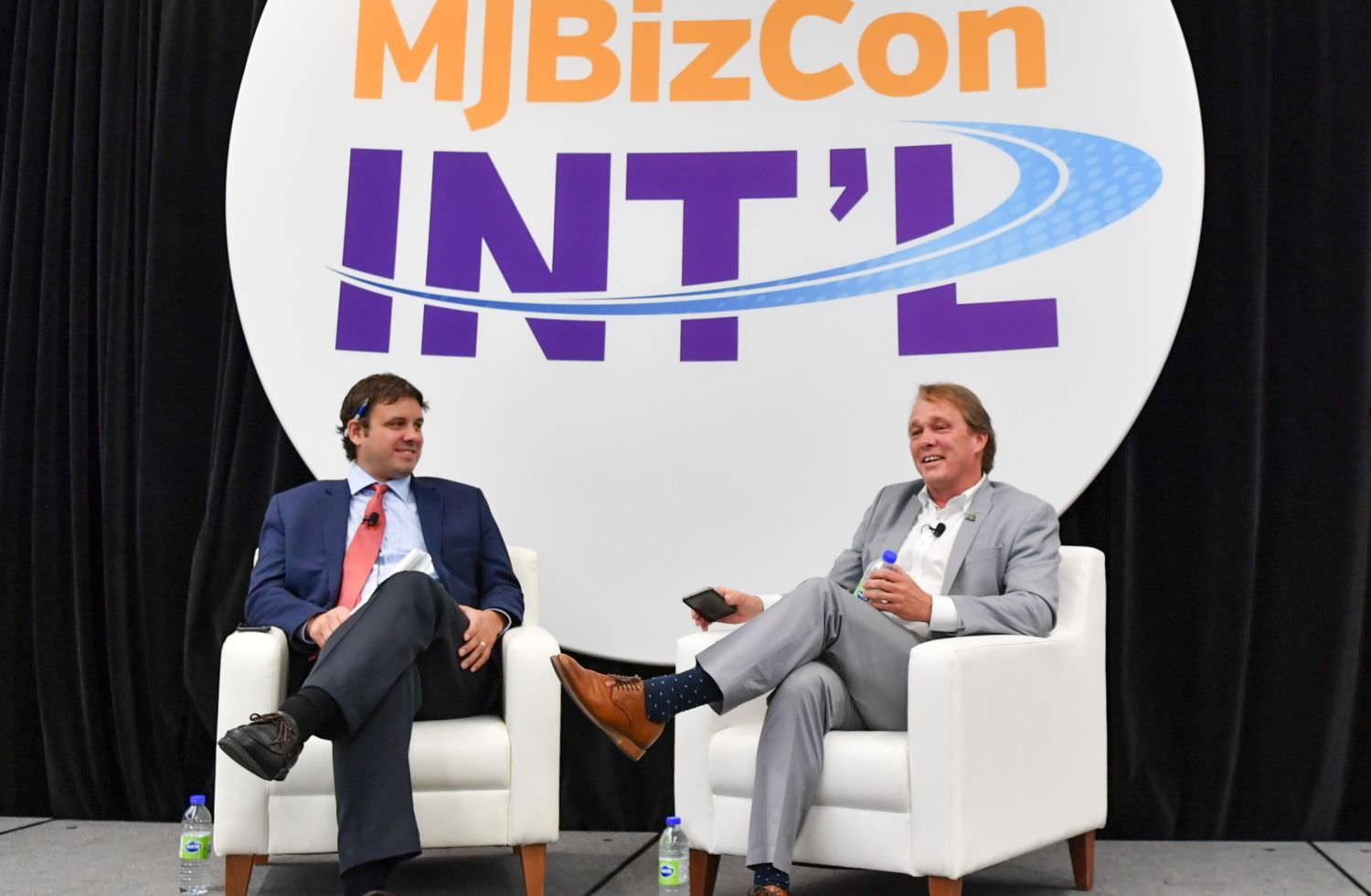Canopy Growth CEO Bruce Linton, Bruce Linton discusses deploying CA$5 billion, Canopy's commitment to international growth