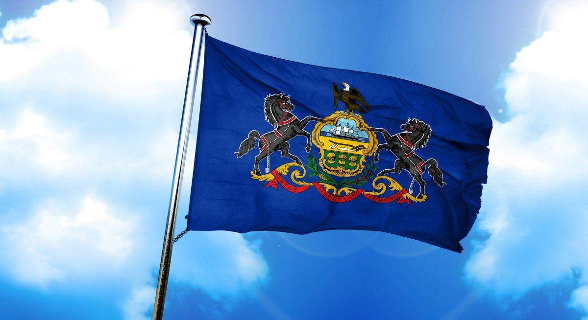 Image of Pennsylvania state flag