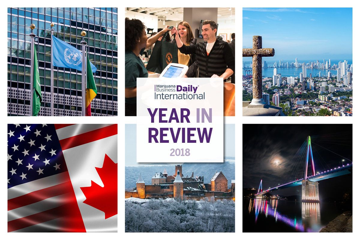 International cannabis year in review, Slideshow: 2018 International Cannabis Business Year in Review