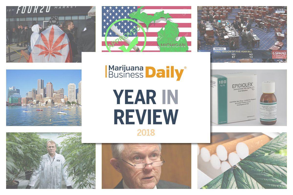 2018 marijuana, Slideshow: 2018 US Cannabis Business Year in Review