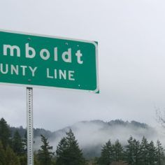 Image of Humboldt County Line sign