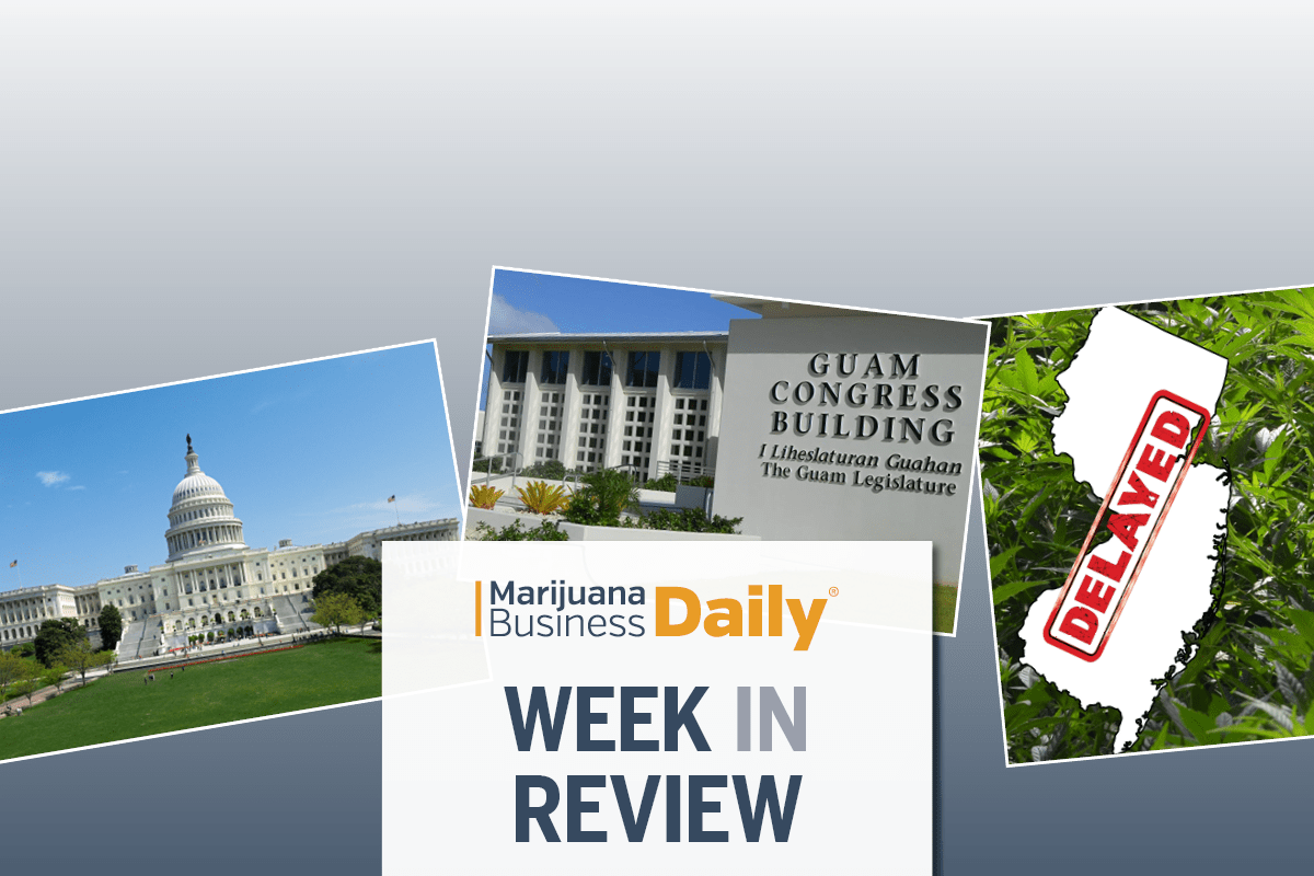 marijuana banking bill, Forward step for cannabis banking legislation at federal level and more of the week's top news (SLIDESHOW)