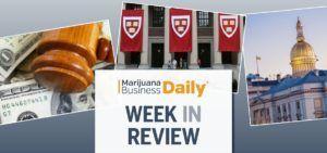 marijuana legalization, Week in Review: IL adult-use and NJ medical cannabis legislative moves, Harvard MMJ research & more