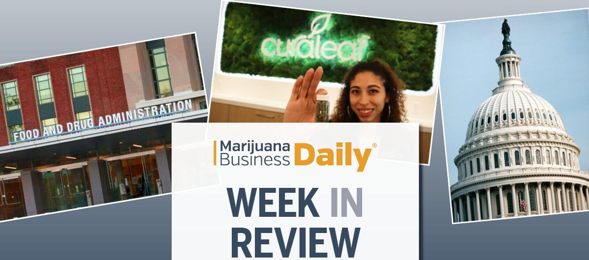 US Senate to consider MJ banking issues, Arcview + Curaleaf's important cannabis deals & more
