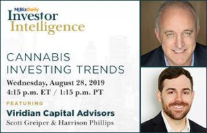 , Quarterly Cannabis Investing Trends with Viridian Capital Advisors