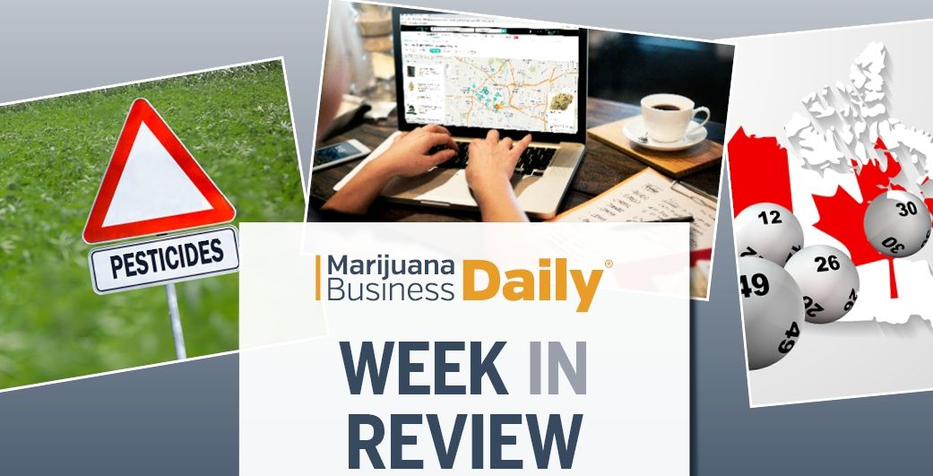 Week in Review: Weedmaps to end its ads for illicit cannabis