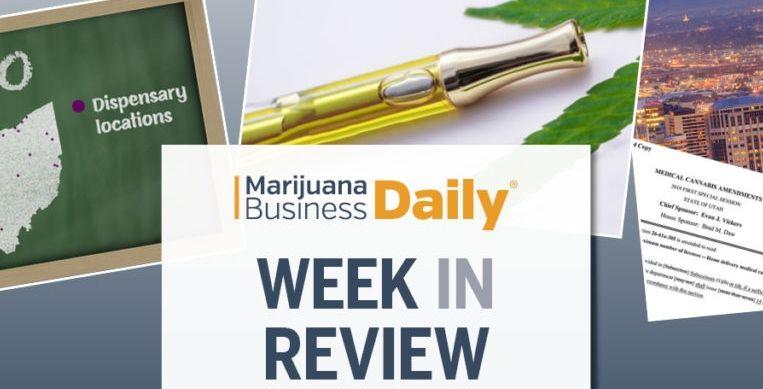 marijuana business news, Week in Review: Vape crisis continues, federal cannabis bill moves, Utah licenses & more