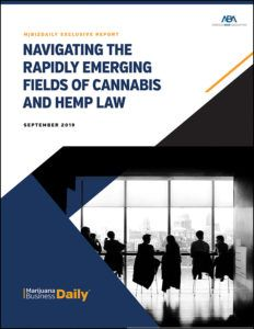 , Navigating the Rapidly Emerging Fields of Cannabis and Hemp Law PDF Access