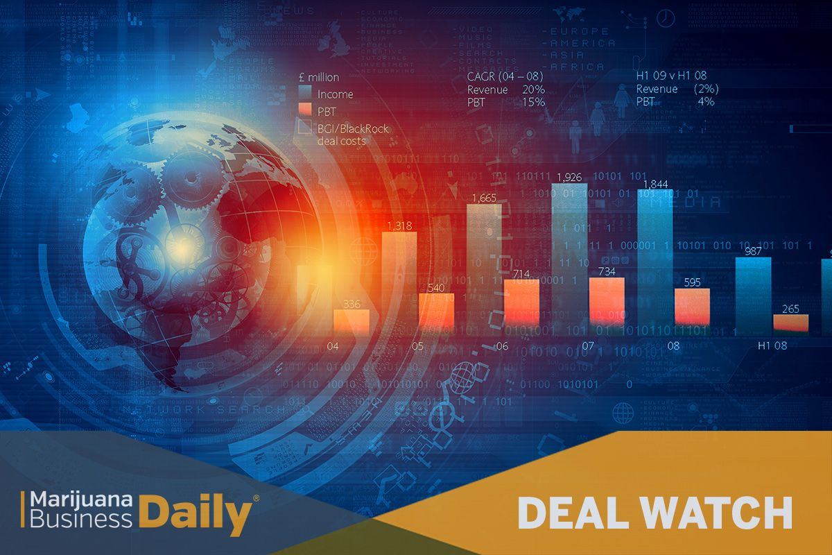 photo of Deal Watch: Cannabis M&A deals slow in September image