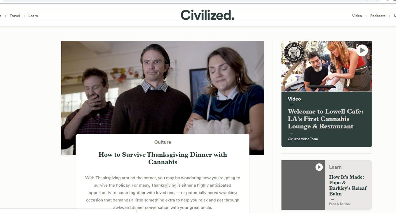 photo of Canadian cannabis publisher Civilized sheds jobs amid New Frontier purchase image