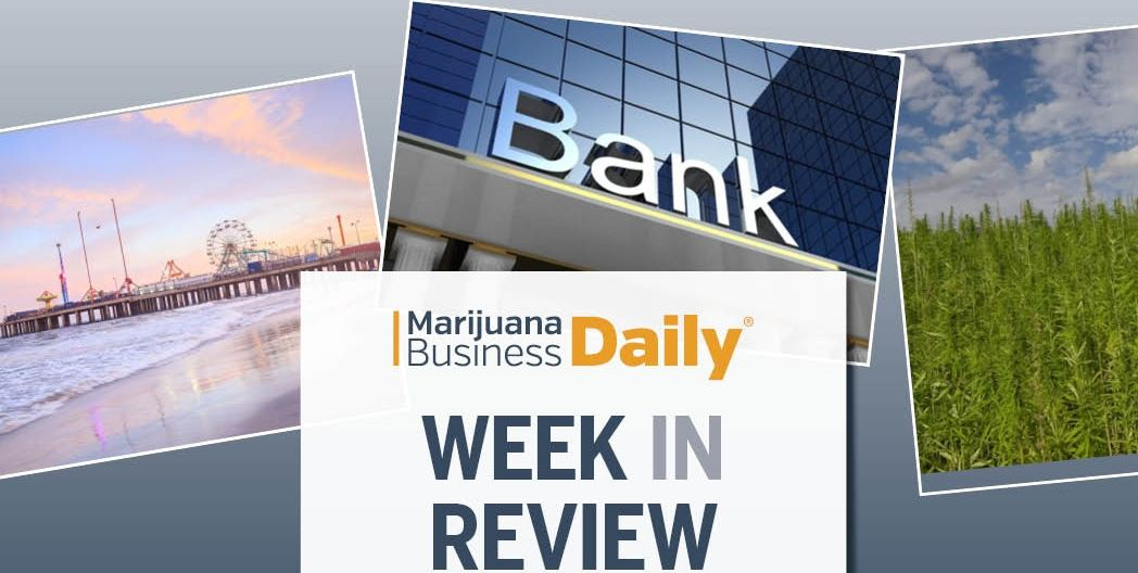 cannabis banking, Week in Review: Cannabis banking reform hits snag, recreational MJ goes to New Jersey voters, merger falls through & more