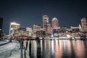 Image of Boston skyline