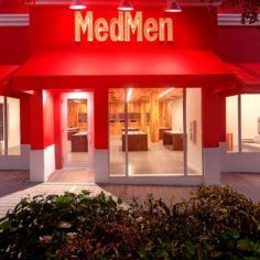 Image of a MedMen retail store