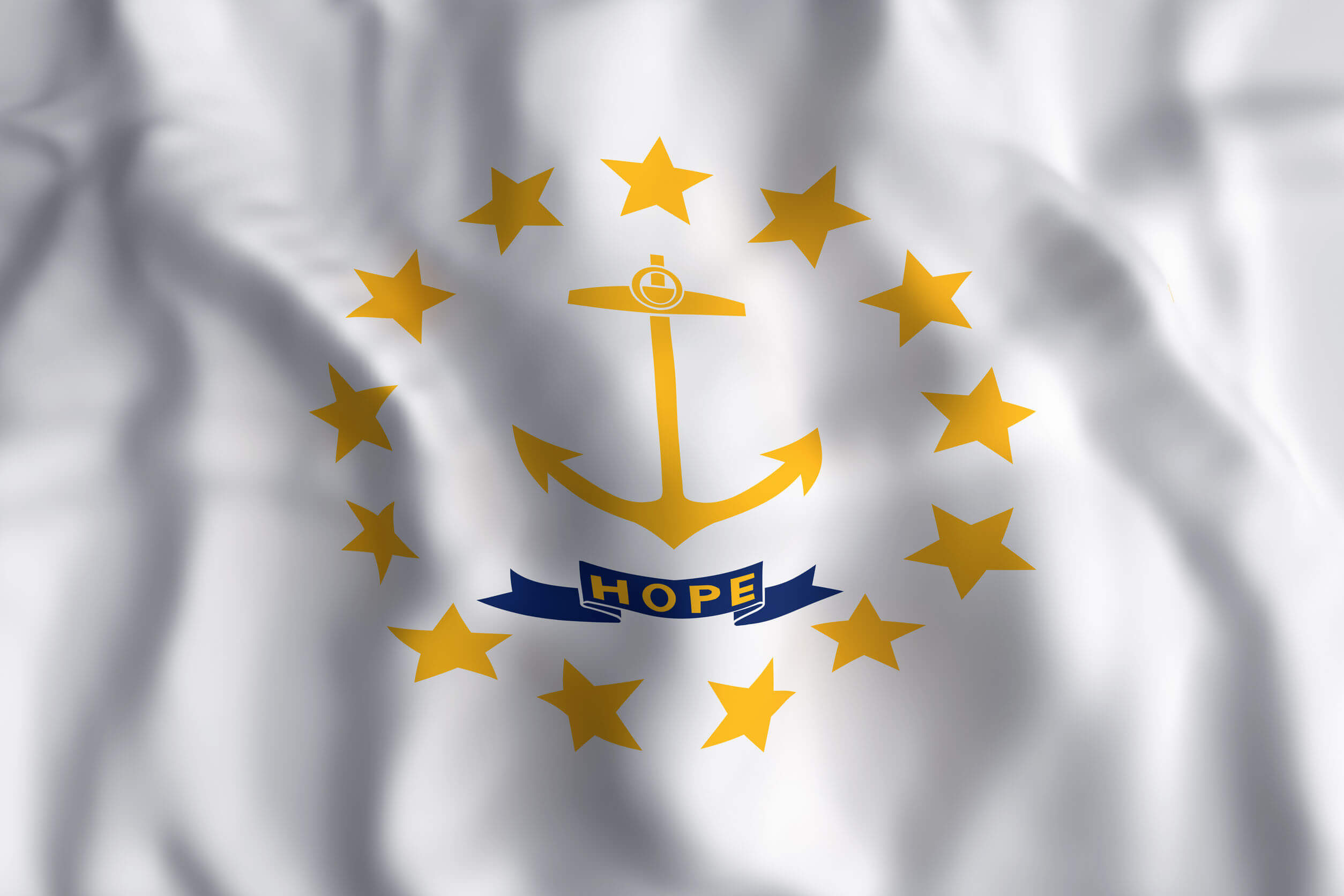 Image of Rhode Island state flag