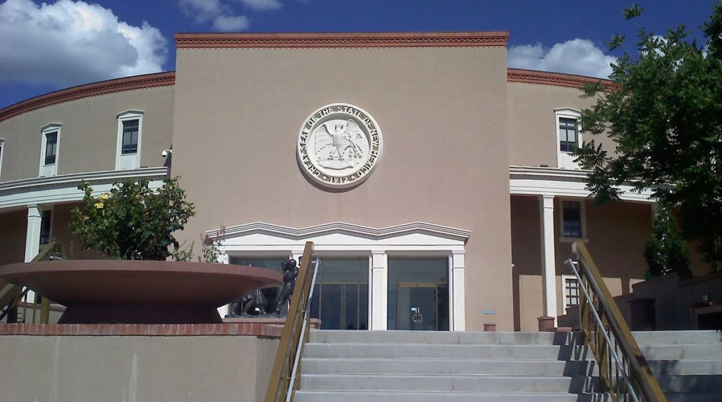 Image of New Mexico state capitol