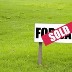 Image of a sold sign