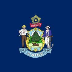 Image of Maine state flag