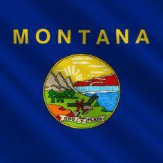 Image of Montana state flag