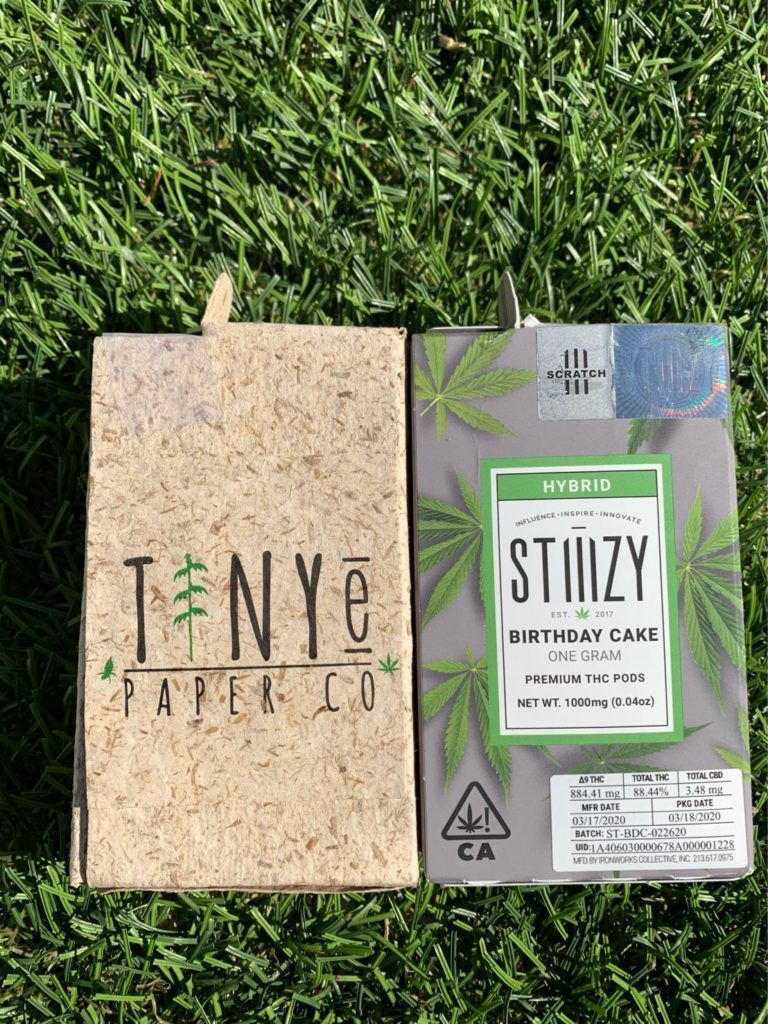 Finding sustainable packaging options for cannabis products