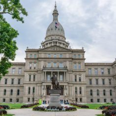 Image of Michigan state capitol