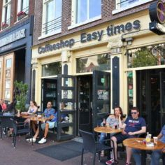 Image of an Amsterdam coffee shop