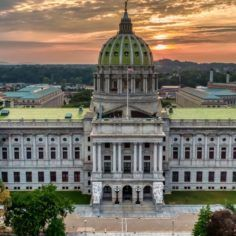 Image of Pennsylvania state capitol