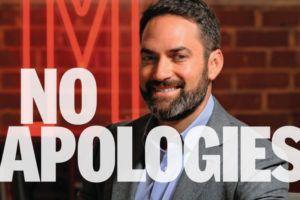 , No Apologies