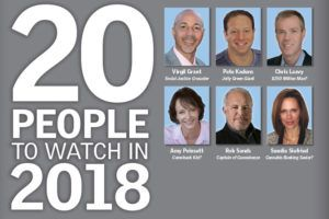 , 20 People to Watch in 2018