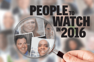, 20 People to Watch in 2016
