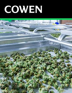 Cowen Report: Cannabis: $75B Opportunity; Category Cross-Currents Keep US Cautious on Booze