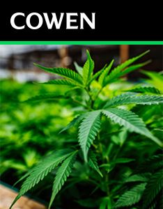 Cowen Report: The Cannabis Compendium: Cross-Sector Views on a Budding Industry