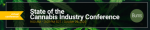 , Burns & Levinson hosts fourth annual state of the cannabis industry conference virtually on October 29, 2020