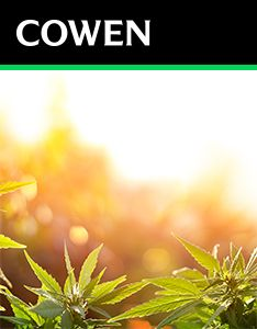 Cowen Report: The Green Rush Needs to Make Good On Its Promise