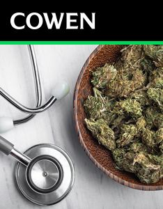 Cowen Report: The Medical Cannabis and Cannabinoid Landscape