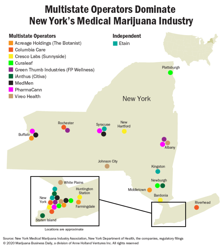 New York recreational marijuana, Could New York's limited medical cannabis program hamper a new adult-use market?