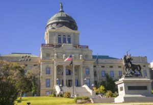 Image of Montana state capitol building