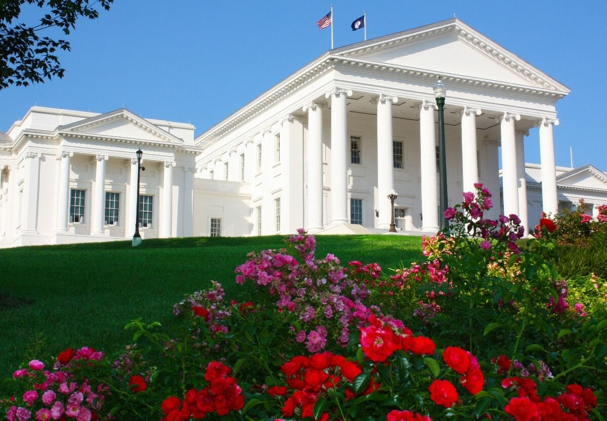 Image of Virginia state capitol