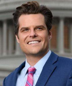 Representative Matt Gaetz (R-Florida) official headshot